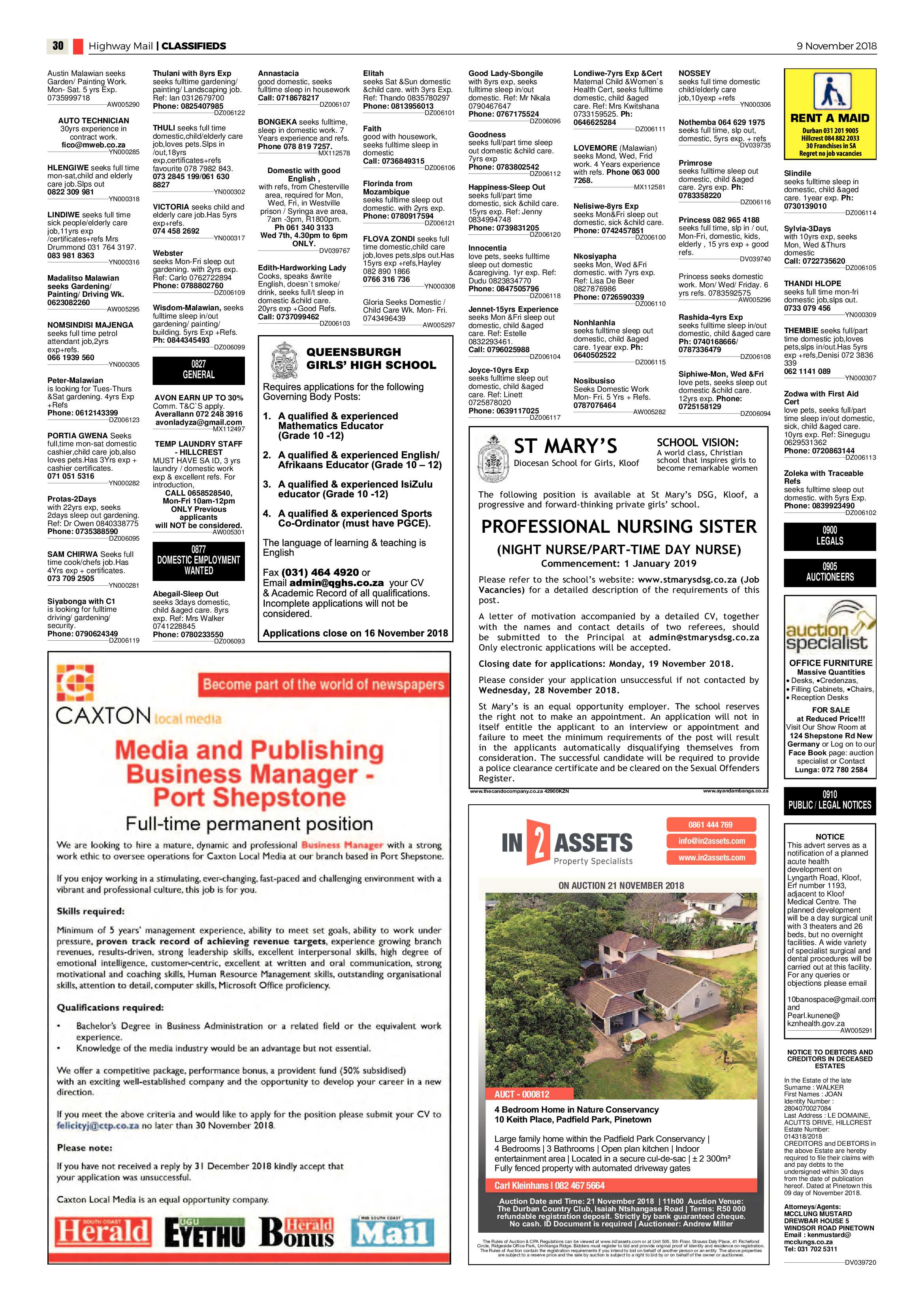 highway-mail-9-november-2018-epapers-page-30